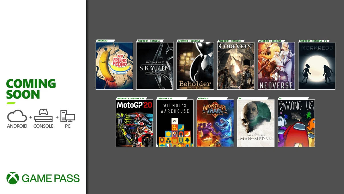 Xbox Game Pass - Neue Spiele im Dezember (Teil 2) für die Xbox One / Series X und S Konsolen, Android/Cloud und den PC