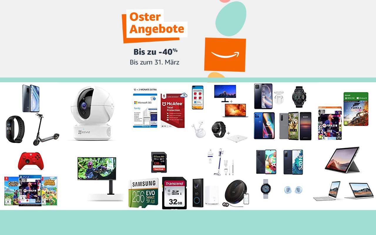 Amazon Osterangebote 2021 - bis zu 40% Rabatt - Angebote, Aktionen und Gutscheine - Tag 5