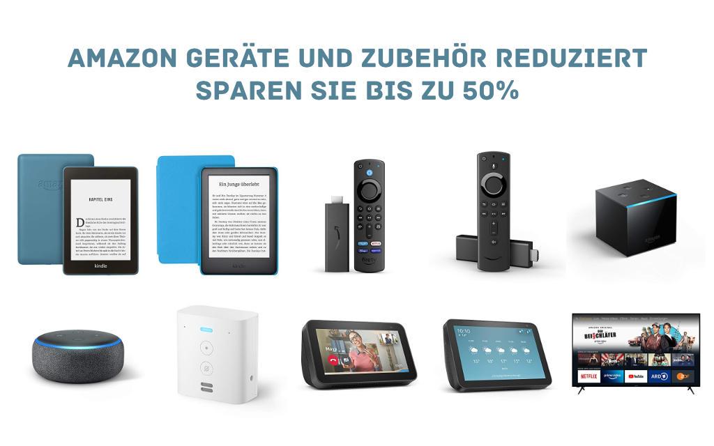 Angebote - Echo, Fire TV, Kindle eReader - für und mit Alexa