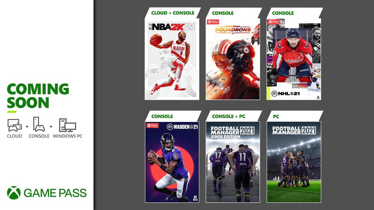 Xbox Game Pass - Neue Spiele im März 2021 für die Xbox One / Series X und S Konsolen, Android/Cloud und den PC