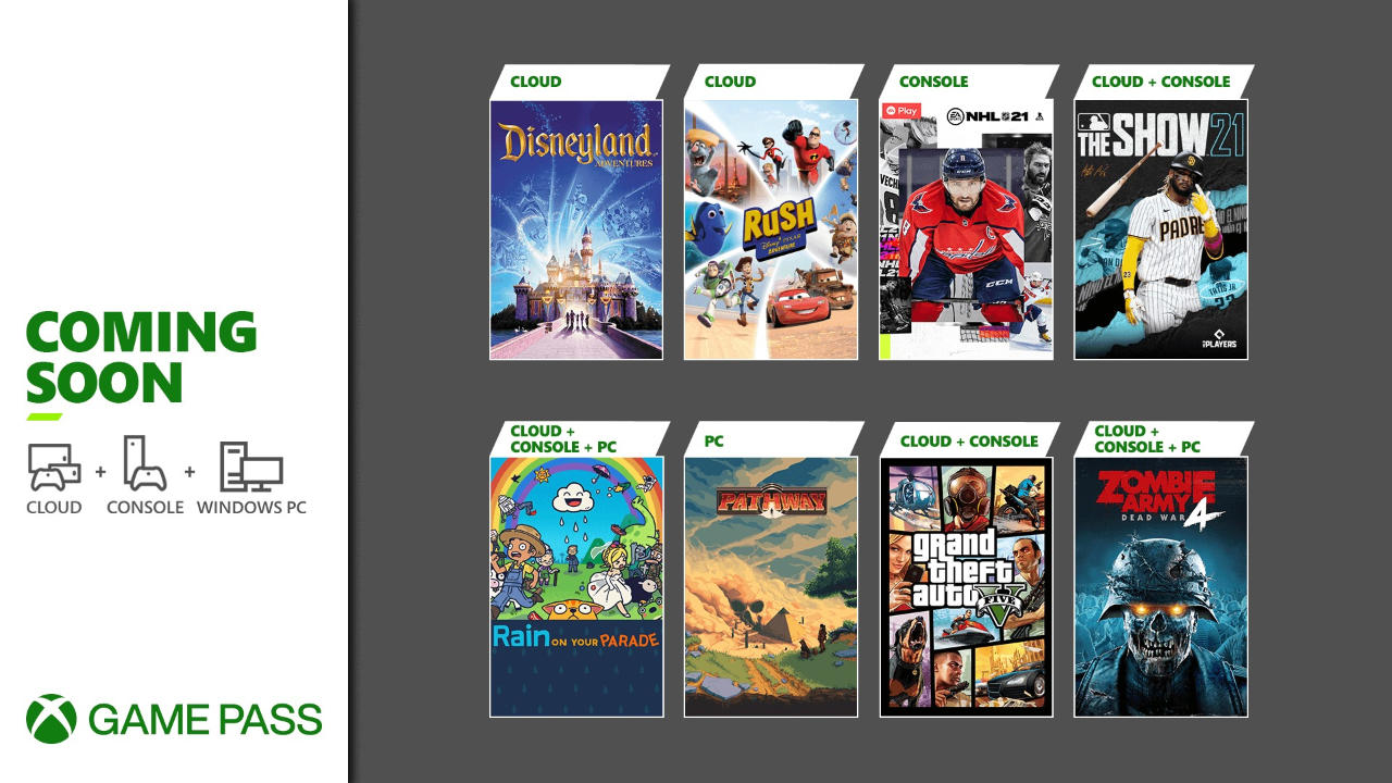 Xbox Game Pass - Neue Spiele im April 2021