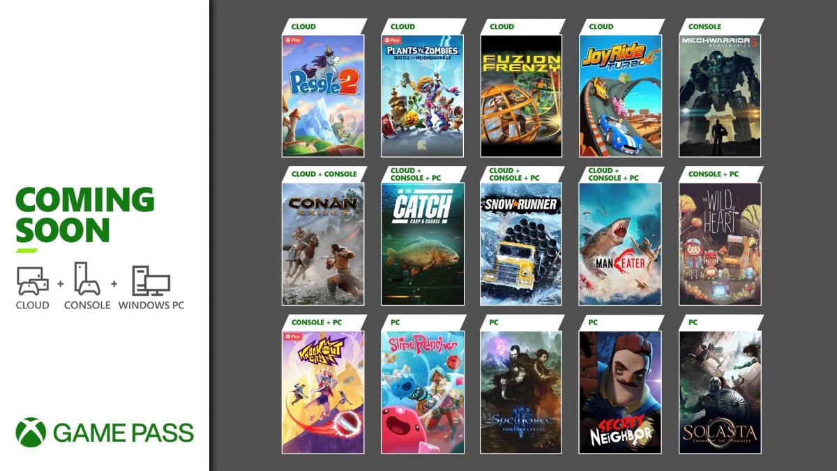 Xbox Game Pass - Neuzugänge Mai 2021 Teil 2