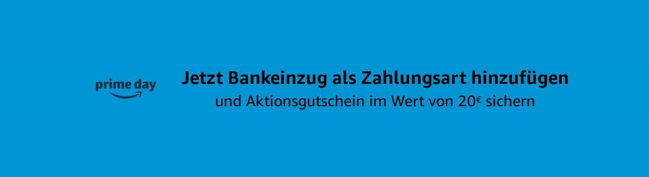 20 Euro Amazon Gutschein - Juni 2021 - Prime Day bei amazon.de