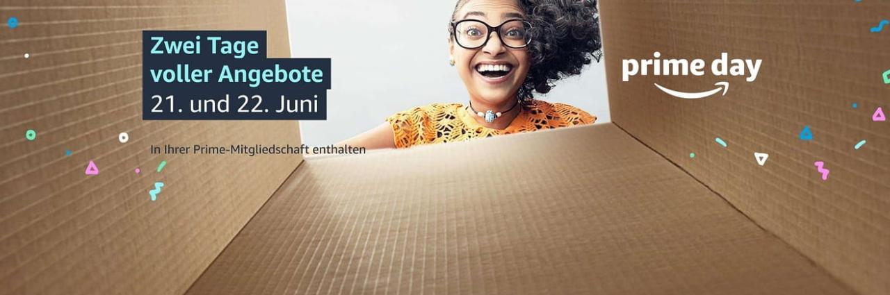 Amazon Prime Day 2021 offiziell bestätigt - erste Angebote und Aktionen bekannt bzw. sogar schon gestartet