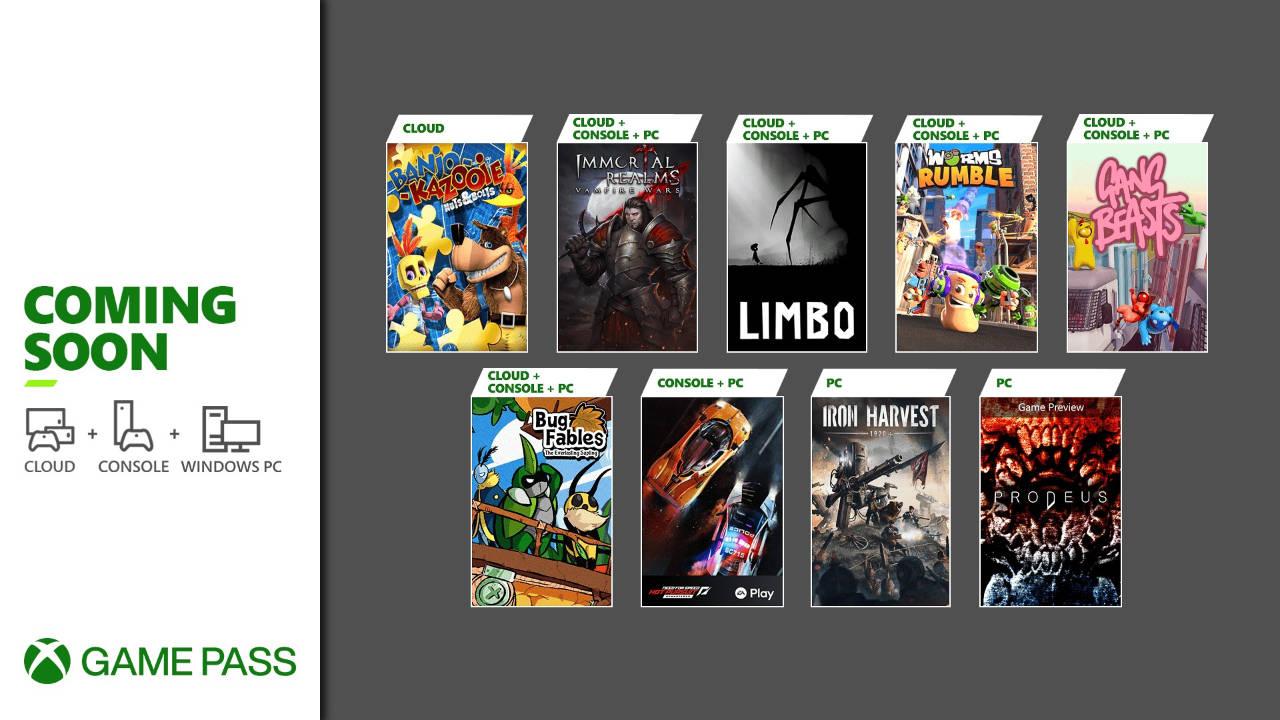 Xbox Game Pass - Neuzugänge Juni 2021 Teil 2