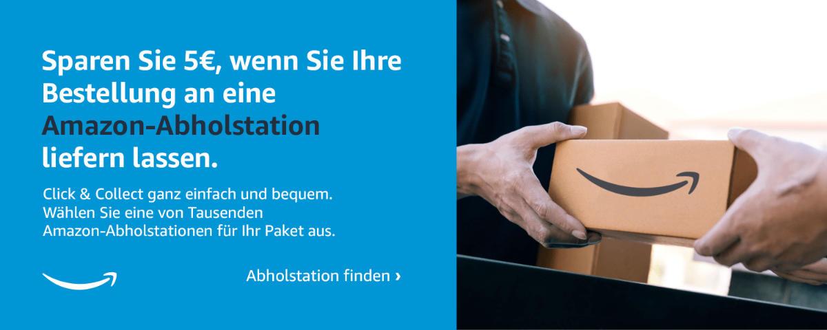 Click & Collect bei amazon.de - 5 Euro Gutschein im September 2021