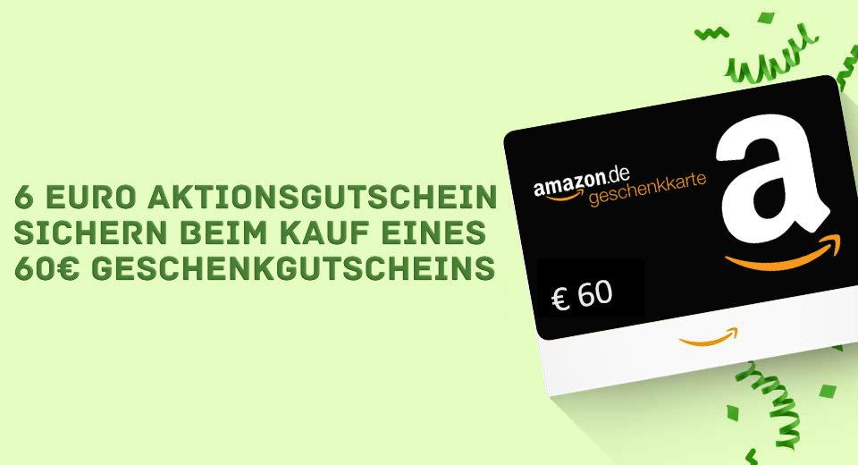 Sechs Euro Amazon Gutschein Oktober 2021
