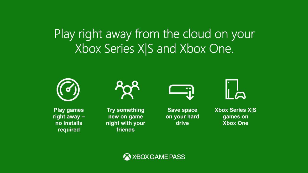 Cloud Gaming per Xbox Game Pass Ultimate kommt auch auf die Konsolen