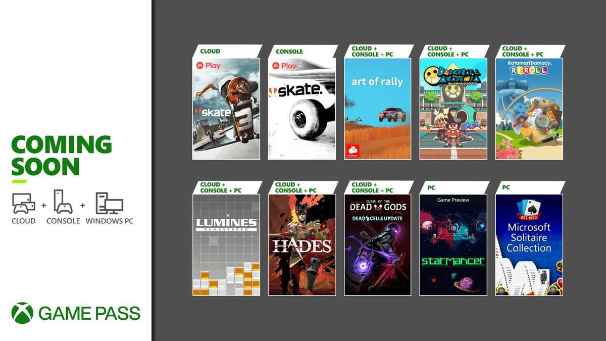 Xbox Game Pass - Neuzugänge August 2021 Teil 1 - Konsole, PC, Cloud