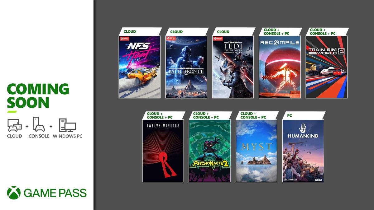 Xbox Game Pass - Neuzugänge August 2021 - Teil 2 - Konsole, PC, Cloud