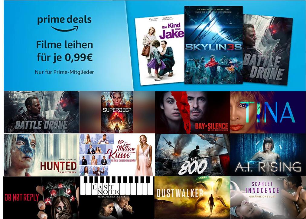 30 Filme für je 99 Cent ausleihen - Oktober bei amazon.de - Heimkino Schnäppchen