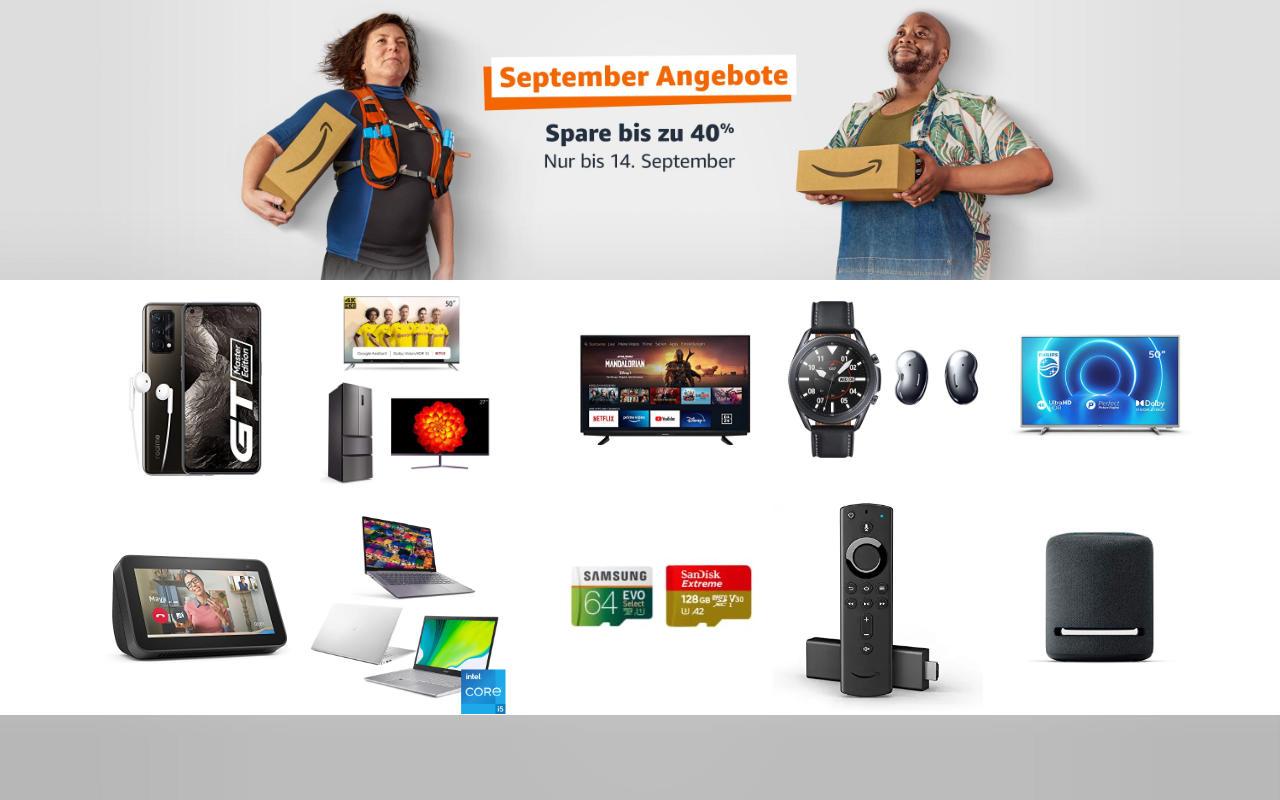 September-Angebote bei amazon.de - Tagesangebote und Blitzangebote - Tag 4