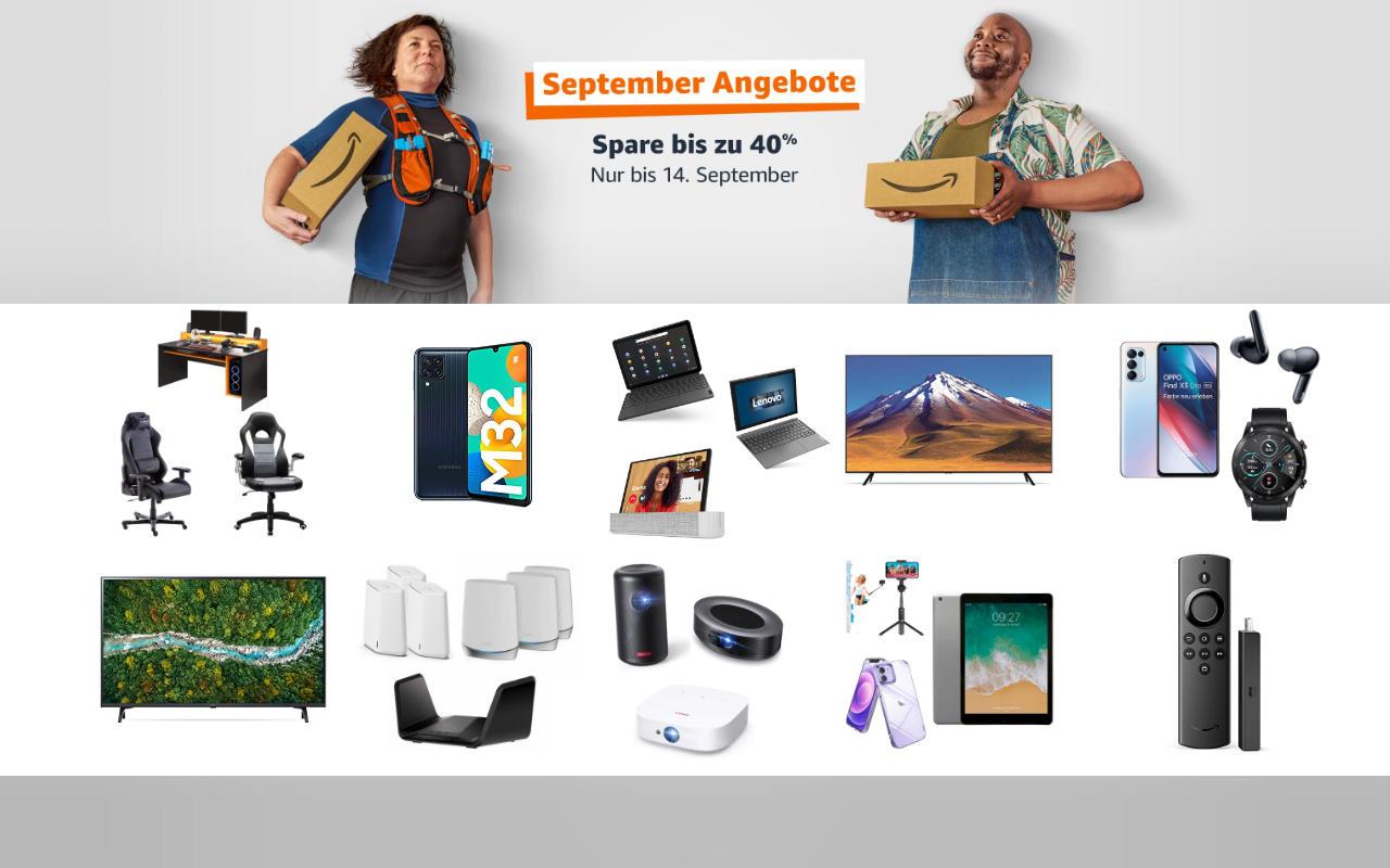 September-Angebote 2021 - Technik Angebote - Tag 8