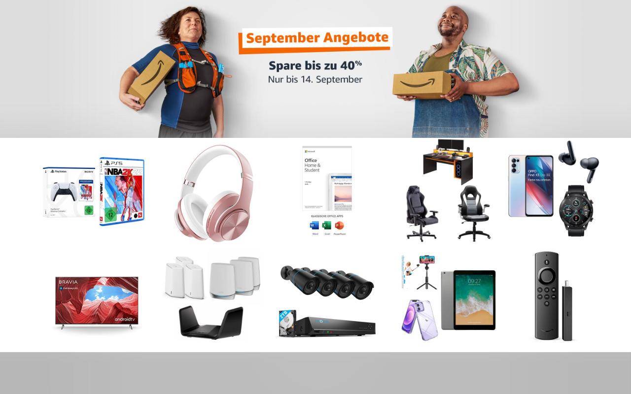September-Angebote 2021 - Technik Angebote - Tag 9