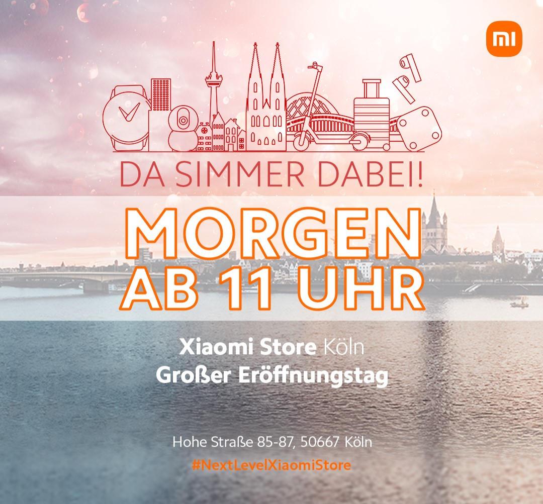 Xiaomi Store Köln - #NextLevelXiaomiStore - Innenstadt Hohe Straße 85-87